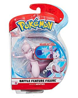 Pokemon Battle Feature 4.5inch Mewtwo