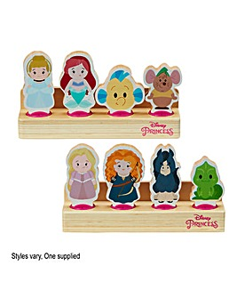 Disney Princess Wooden Princess 4 Figure Set