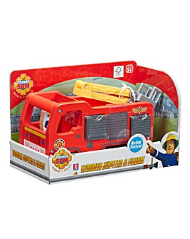 Fireman Sam Wooden Jupiter and Figure