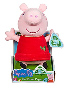 Peppa Pig Eco Red Dress Peppa
