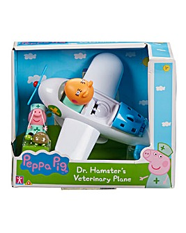 Peppa Pig Dr Hamster's Plane