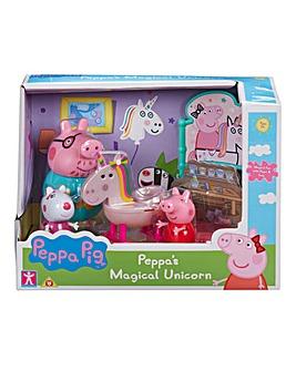 Peppa Pig Magical Unicorn Playset