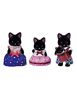 Sylvanian Families Midnight Cat Family
