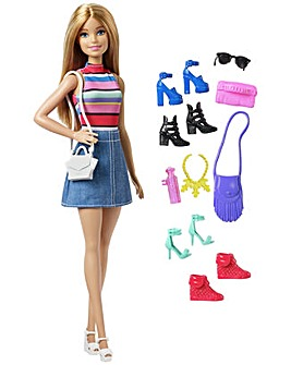 Barbie Doll and Shoes