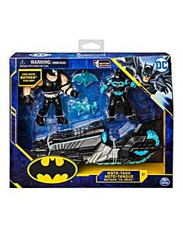 DC Anti-Bane Bike with Batman & Bane