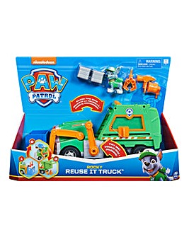 Paw Patrol Rocky Reuse It Truck