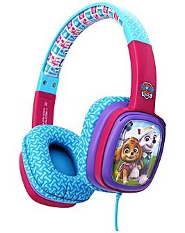 Paw Patrol Kids On-Ear Headphones - Pink