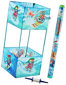 Kite Drone Twinstar Tiki Surfers Kite