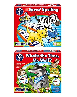 Time & Spelling Games