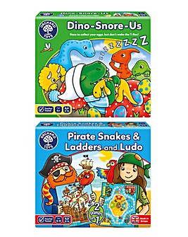 Pirates and Dinosaurs Counting Games