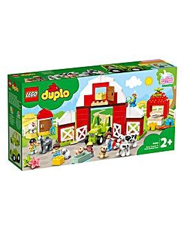 LEGO Duplo Barn, Tractor & Animal Care