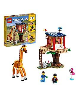 LEGO Creator Safari Wildlife Tree House - 31116