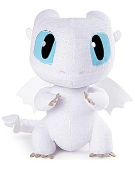 Dragon Squeeze Growl Lightfury Soft Toy