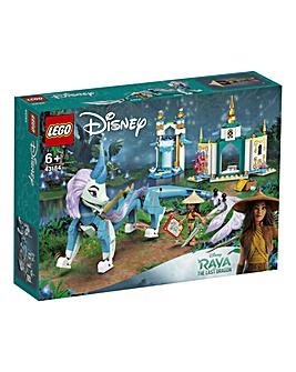 LEGO Disney Raya and Sisu Dragon