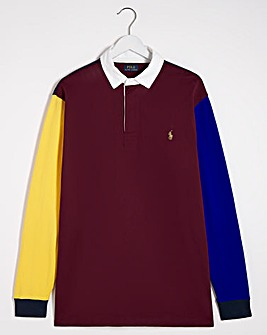 Polo Ralph Lauren Wine Rugby Sweatshirt