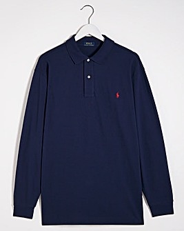 Polo Ralph Lauren Navy Classic Long Sleeve Polo