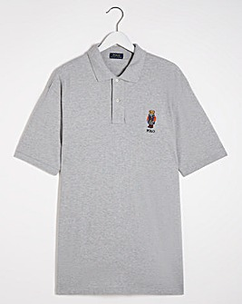 Polo Ralph Lauren Heather Classic Short Sleeve Bear Polo