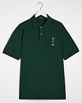 Polo Ralph Lauren Green Classic Short Sleeve Bear Polo