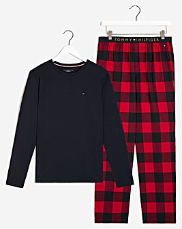 Tommy Hilfiger Flannel Pyjama Set