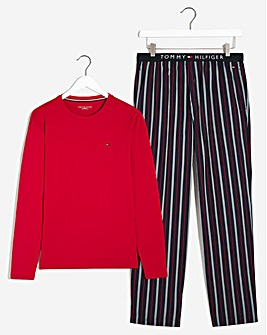 Tommy Hilfiger Stripe Pjyama Set