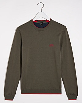 BOSS Riston Crew Neck Knit