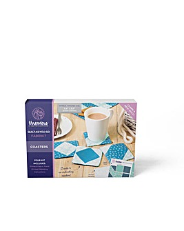 Threaders-Quilt-As-You-Go Kit-Coasters