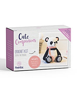 Cute Companions - Panda Crochet Kit
