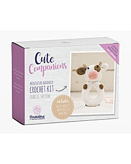 Cute Companions - Cow Crochet Kit