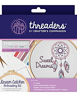 Threaders-Embroidery Kit - Dream Catcher
