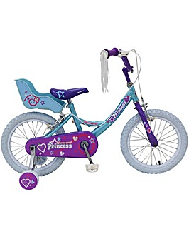"Townsend Princess Girls Mountain 16""wheel Bike"