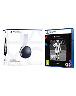 FIFA 21 and PS5 PULSE 3D Headset