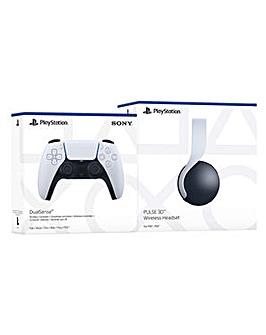 PS5 PULSE 3D Headset and Controller