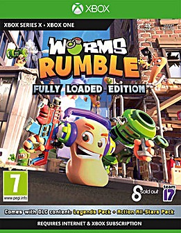 Worms Rumble Loaded Xbox OneSeries X