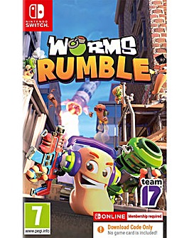 Worms Rumble CODE IN A BOX Switch