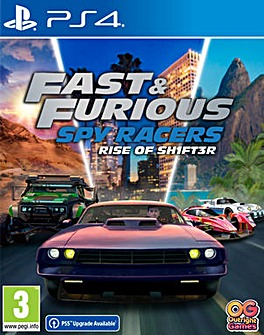 Fast  Furious Spy Racers PS4