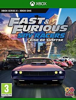 Fast  Furious Spy Racers Xbox