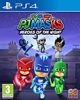PJ Masks Heroes of the Night PS4