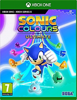 Sonic Colours Ultimate Xbox One Series X