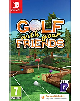 Golf With Friends CODE IN A BOX Switch