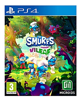 The Smurfs Mission ViLeaf  PS4