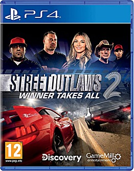 Street Outlaws 2 Winner Takes All PS4