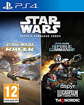 Star Wars Racer and Commando Combo PS4