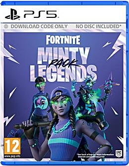 Fortnite Minty Legends Pack PS5