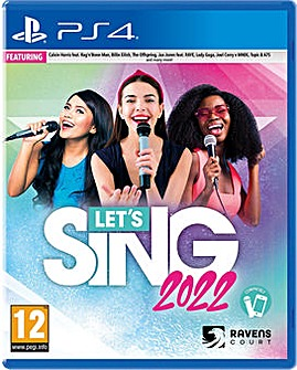 Lets Sing 2022 inc Mic PS4