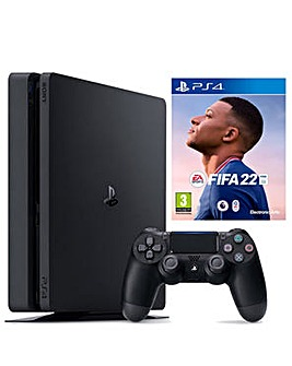 PS4 500GB Console with FIFA 22