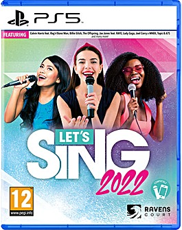 Lets Sing 2022 inc Mic PS5