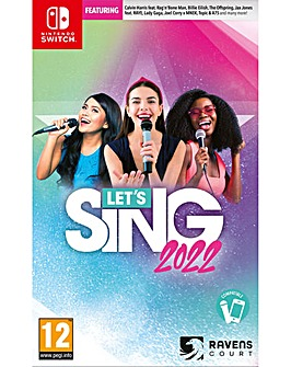 Lets Sing 2022 inc Mic Switch