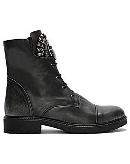 Daniel Encrust Embellished Ankle Boots