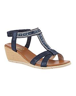 Lotus Bindi Sandals Standard D Fit