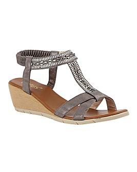 Lotus Bindi Sandals Standard D Fit